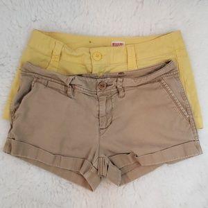 Pants - BUNDLE 2 FOR 1 Summer Shorts Size 7 JUNIORS